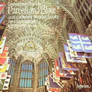 Countertenor duets and solo by Henry Purcell and John Blow
