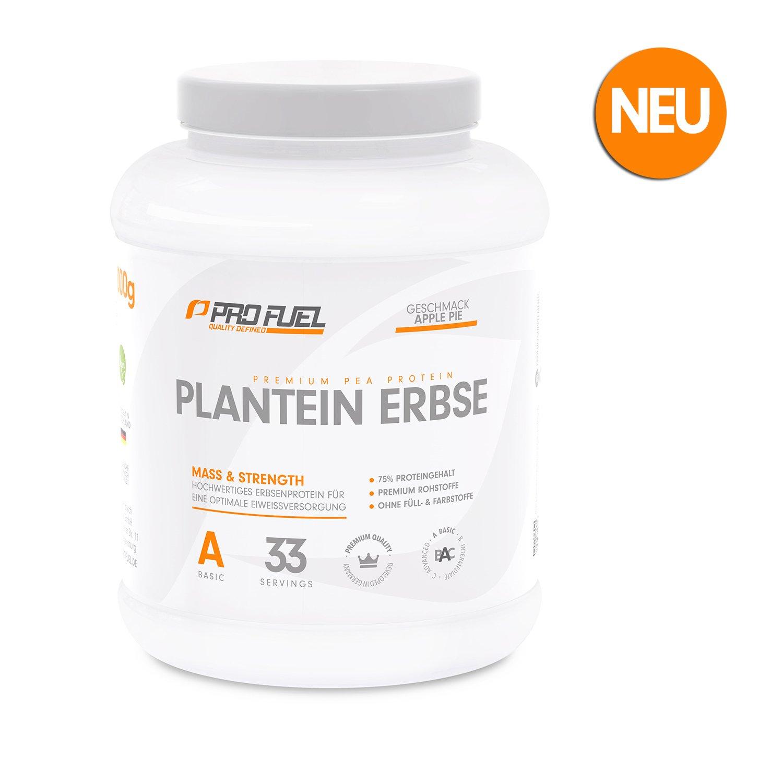 PLANTEIN ERBSE | Vegan Protein Powder • Pflanzliches Premium Eiweißpulver aus gelben Erbsen | High Protein | Cremig & Lecker | Made in Germany | 1 kg – CAPPUCCINO