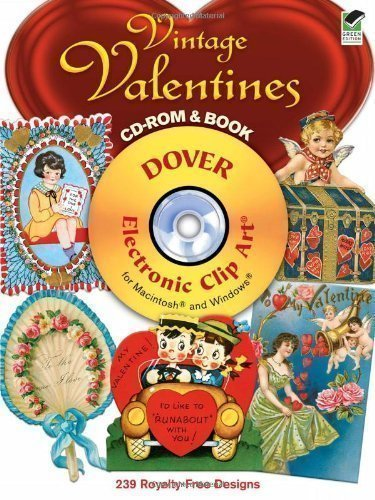 Vintage Valentine Clipart (Vintage Valentines (Electronic Clip Art)- copyright free images (Dover Electronic Clip Art) by Carol Belanger Grafton [25 March 2011])