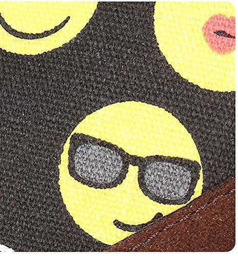 Tibes Little Cute Emoji Zaino Bambina Bambina Daypack Giallo A1 Giallo (31 * 44 * 15cm)