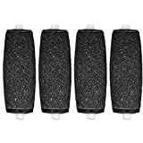 4 x compatibile Scholl Velvet Smooth Express Diamond sostituzione rullo Pedi immagine