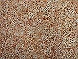 Natursteinteppich-Fliese Classic Line Rosa Corallo - flexible Bodenfliese für Innen und Außen aus italienischem Marmorkies, Teppichfliese, Marmorteppich, Terassenboden, Poolumrandung - 1m² Paket (4 Stück 50x50 cm)