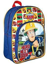 Sam Le Pompier - Fireman Sam - Enfants Sac à Dos - Hero 24 x 31 x 11 cm