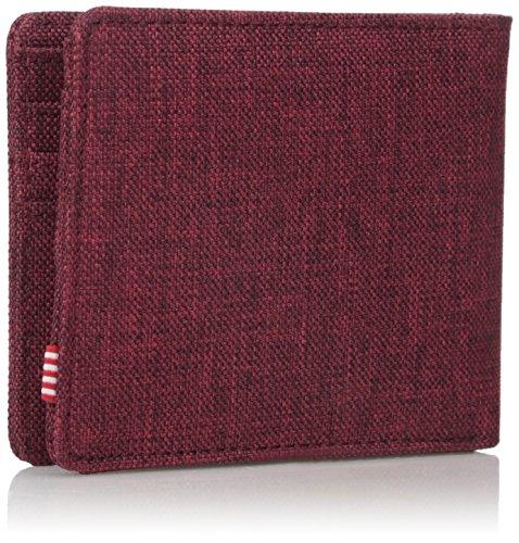 Herschel Roy Plus Coin RFID Wallet Winetasting Crosshatch - 2