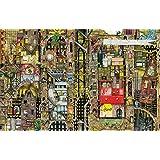 Schmidt Spiele Puzzle 59355 Puzzle 1.000 Teile, Colin Thompson, Fantastisches Stadtbild