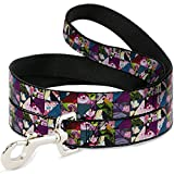 Buckle Down dl-6ft-wdy310-n Pet Leash-Alice im Wunderland Kaleidoskop Szenen, 6 'L/5,1 cm W