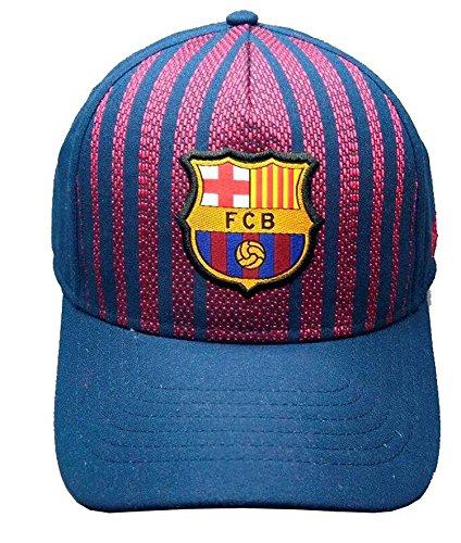 Cap Kinder Barça-Offizielle Kollektion FC Barcelona-Größe verstellbar Kinder