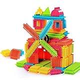liketo 2018New 100Originalität Interlocking Builders Blöcke Play Set mit Aufbewahrungsbox für Kleinkinder Mädchen Jungen Kind Kinder