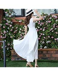 Vestidos color blanco de playa