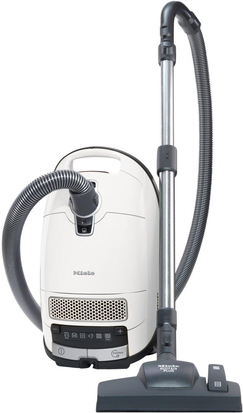 Miele Complete C3 Silence EcoLine Bodenstaubsauger (mit Beutel, 4,5 Liter Staubbeutelvolumen, 550 Watt, 12m…