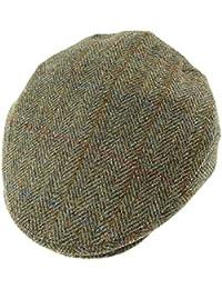 41efb1ceba5 Harris Tweed Mens Genuine Flat Cap