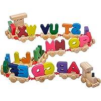 Popo Toys Wooden Alphabet, Multicolour