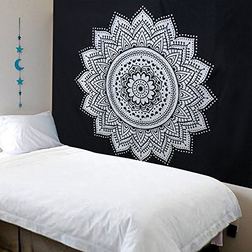 Tapiz decorativo bohemia Mandala decoración pared