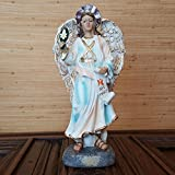 Heiligenfigur Erzengel Gabriel Religions Statue Deko Figur Dekoration Heiliger