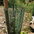 5er Pack Treeguard Layflat, Baumschutz Flachgitter, 1.2m, für Ø 20cm, grün, zum Fege- und Verbissschutz von Tubex auf Du und dein Garten