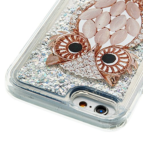 Nutbro iPhone 5S Bling Case iPhone SE Colorful Flowing Shinny iPhone 5 Glitter Star Soft TPU Back Cover Shockproof Dynamic Liquid Quicksand Mobile Phone Case YB-iPhone-5S-297