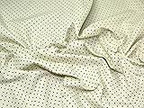 truella Spotty gebürstet Weiche Baumwolle Kleid Stoff