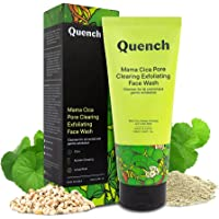 Quench Botanics Mama Cica Pore Clearing Exfoliating Face Wash   Deep Cleanses and Exfoliates Skin   with Cica, Korean…