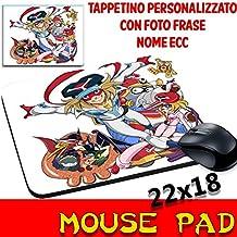 Mouse Pad Yattaman Cartoni Tappetino Mouse personalizzato con nome ecc