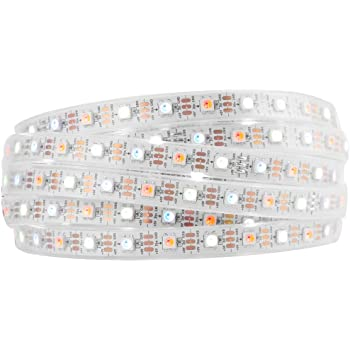 btf lighting rgbw rgbnw natural white sk6812 similar ws2812b 16 4ft 5m 60leds pixels m individually addressable flexible 4 color in 1 led dream color led