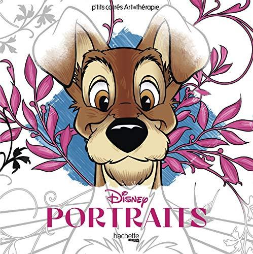 Carrés Art-thérapie Portraits Disney