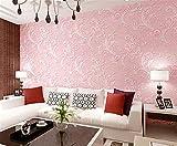 ufengke Estilo Pastoral Romántico No Tejido Jardín Patrón de Flores Papel Pintado Mural Para Dormitorio Sala de Estar