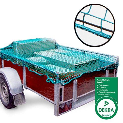 Ciondolo rete di sicurezza con elastico 1,50x 2,20m per la sicurezza della ricarica o bagagli