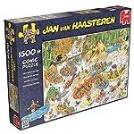 Jan van Haasteren - Comic Puzzle - Rafting Wild Water - 1500 pi ces