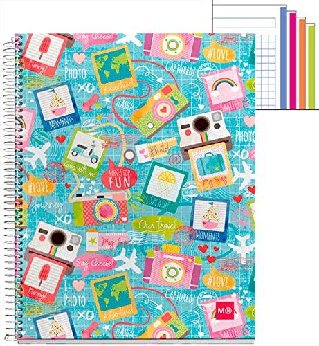 miquelrius-2412-blocco-4-colori-a4-120-quadretti-photos