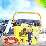 JY 32L Tragbare Hochspannungs-Elektrofahrzeug Waschen Auto 12V Hause Self-Service-Autowaschanlage Wasserpistole Reinigungsmaschine,Gelb