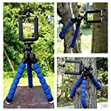 #8: AVMART Mini Flexible Sponge Octopus Stand Tripod Mount for Support All Kinds of Mobile Phone Models Under 5.8 inch (Well fits iPhone 6, 6 Plus 5 5S 5C, Samsung, etc Camera Video