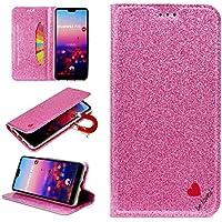Sycode Glitzer Schutzhülle für Huawei P20,Flip Hülle für Huawei P20,Luxus Noble Bling Glitter {Be Loved} Herz... preisvergleich bei billige-tabletten.eu