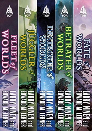The Complete Fleet of Worlds: A Ringworld Series: Fleet of Worlds, Juggler of Worlds, Destroyer of Worlds, Betrayer of Worlds, Fate of Worlds (Known Space) (English Edition)