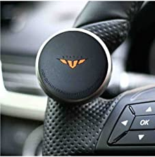 RIDAR Status Mini Power Handle Car Steering Wheel Knob Black for Mahindra Thar