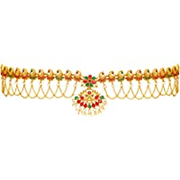 Preyans From Jaipur Mart Kamarband Belly-Chain Tagdi for Women(Golden) (KMBND286MG)