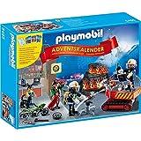 """PLAYMObIL Playmobil Adventskalender """"Feuerwehreinsatz"""" mit Kartenspiel 5495"""