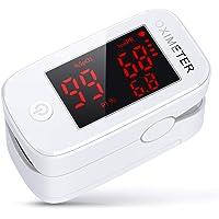 3 in 1 Saturimetro, konjac Ossimetro, Pulsossimetro da Dito Monitor di Saturazione di Ossigeno nel Sangue (SpO2) con PR…