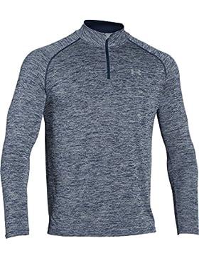 Under Armour–Ua Tech 1/4Zip di fitness Sweatshirts, Uomo, 1242220, Blau Academy, XXXL
