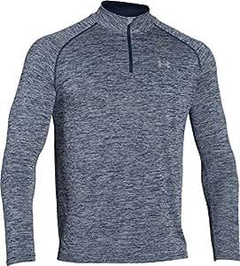 Under Armour Herren Fitness Sweatshirt Ua Tech 1/4 Zip, Blau (Academy), S, 1242220