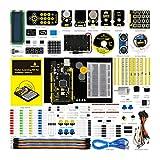 KEYESTUDIO Set/Kit für Arduino Projekt, Starter Kit mit LCD, Servo, USB Kabel, Relais, Motor, Ultraschall, Tutorial für Mega 2560 Kit
