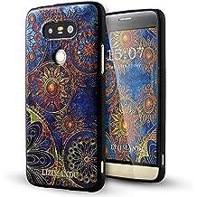 LG G5 Coque,Lizimandu 3D Motif Tpu Silicone Gel Étui Housse Protection Shell Cover Case Pour lg g5(Fleur Bleue/Blue Flower)