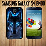 The Blue Wolf Custom made Case/Cover/Skin FOR Samsung Galaxy S4 -Black- Rubber Case (Ship From CA)