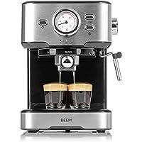 BEEM ESPRESSO-SELECT Espresso-Siebträgermaschine - 15 bar | Espresso, Cappuccino,Latte Macchiato | Espressomaschine…