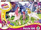 Schmidt Spiele 56267 Mia and Me Kinderpuzzle, 100 Teile