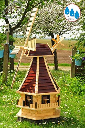 Designer-Gartenwindmühle 130 cm