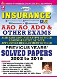 Kiran's Insurance AAO, AO, ADO & Other Exams Previous Years Solved Papers