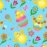 Ostern–Stoff von halben Meter 0,5m–Kinder
