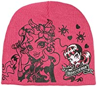 Monster High Girl's Hat, Pink, Small (Manufacturer Size:54)