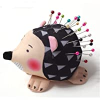 Garispace Needle Pin Cushion Cute Pincushion Pin Hedgehog Shape Soft Cloth Pin Cushion Sewing Accessory Pegs Quilting Holder Sewing Craft Tools