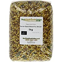 Buy Whole Foods Organic Seven Seed Blend for Bread 1 Kg
